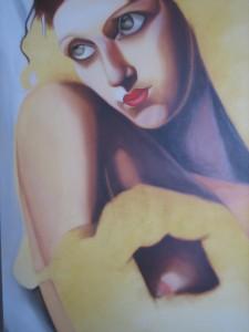 copia d'autore by tamara de lempicka