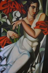 """Ira"" by Tamara de Lempicka"